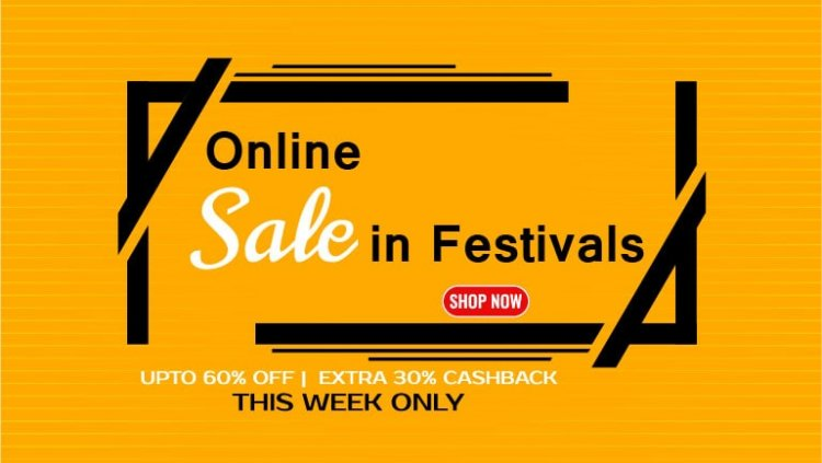 How to increase online sale in festivals