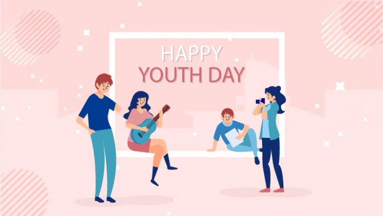 Unique posters on national youth day