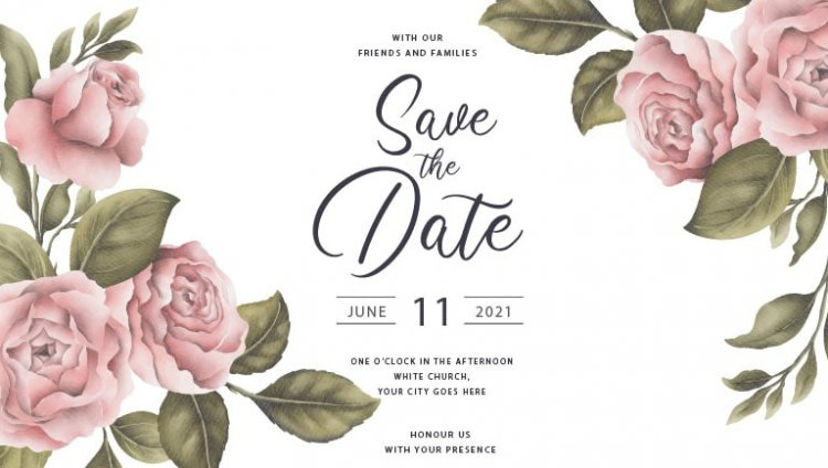 How to design marriage invitation card using doographics invitation card maker to send instantly.