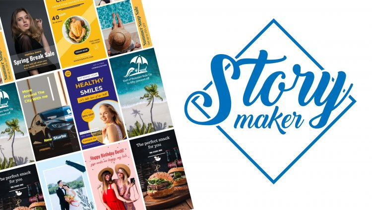 Make your stories narrative with doographics facebook story maker