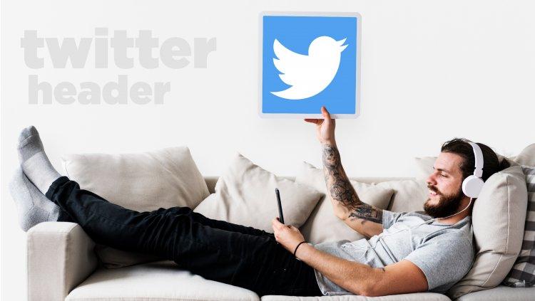 Tips for designing twitter header profile like star