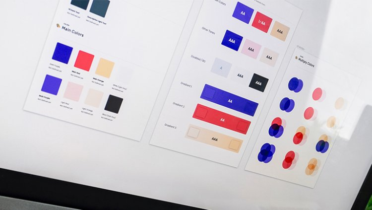 How color affects on branding ,website pages and paid ads