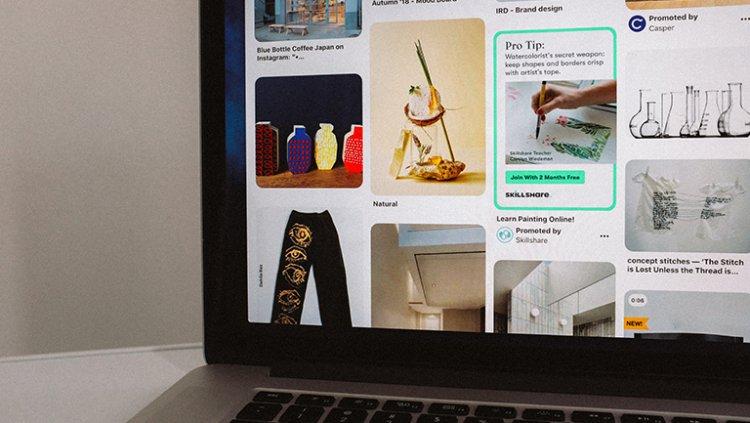 Create brand strategy on pinterest